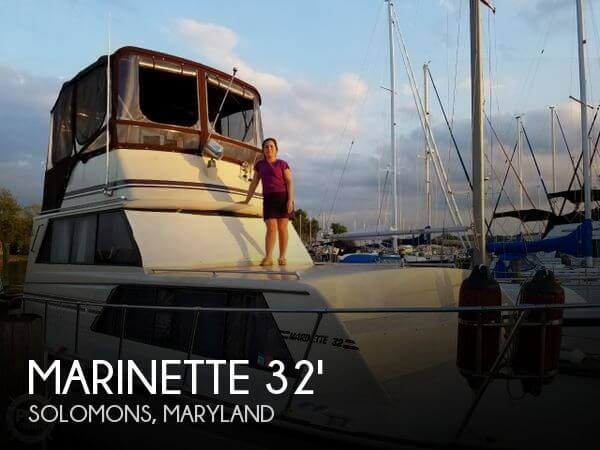 1988 Marinette 32 Sedan Bridge