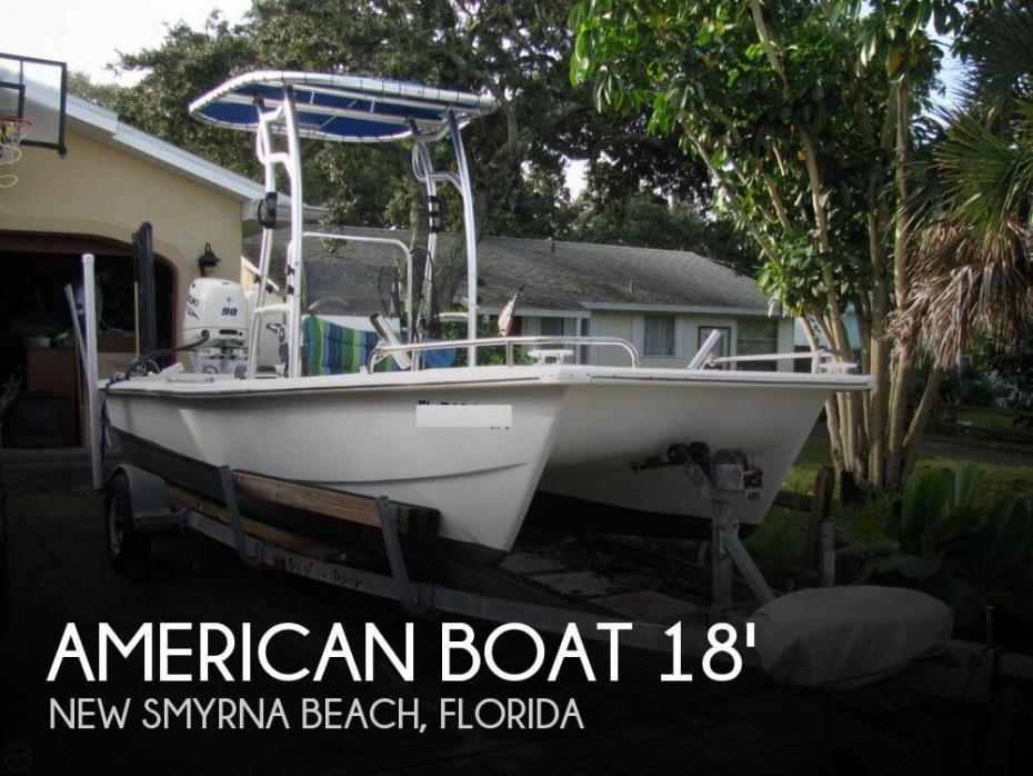 1996 American Boat 18 Catamaran