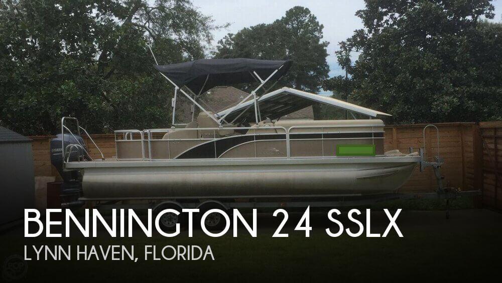 2014 Bennington 24 SSLX