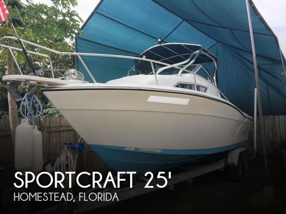 1990 Sportcraft 252 Fishmaster