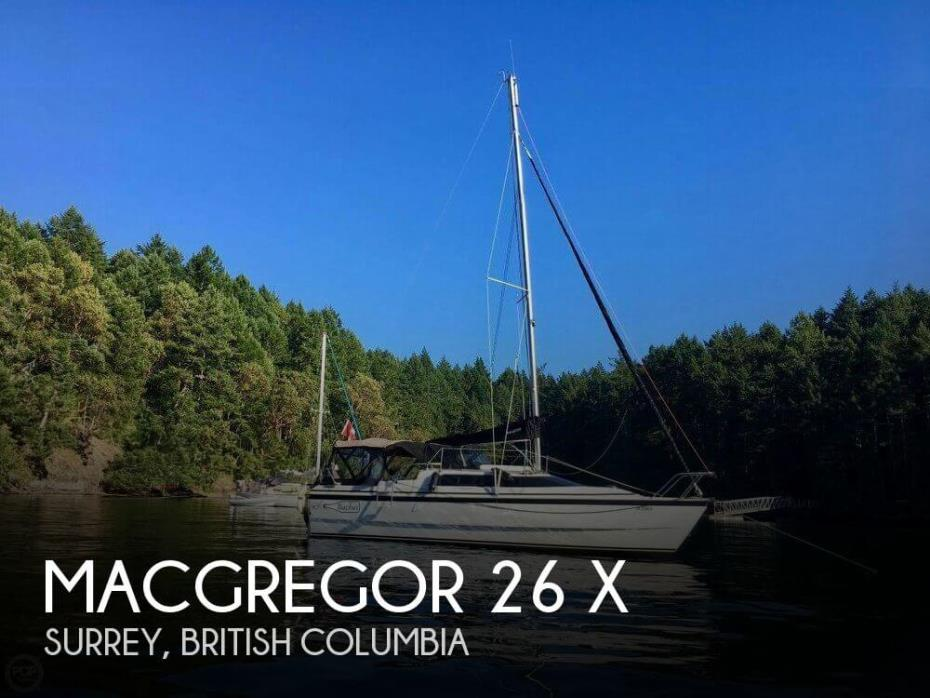 2002 MacGregor 26 X