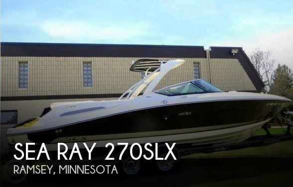2008 Sea Ray 270 SLX
