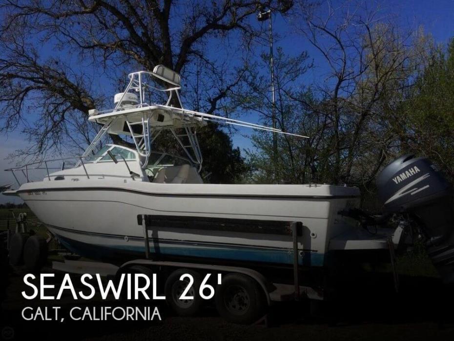 2000 Seaswirl 2600 Walkaround