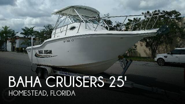 2001 Baha Cruisers 257 WA