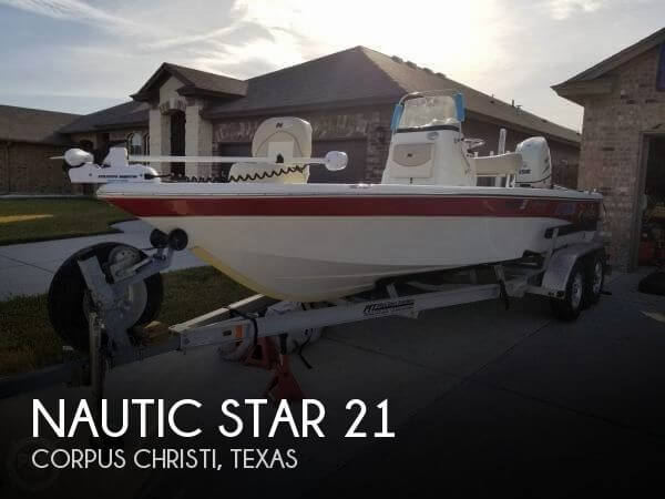 2015 Nautic Star 21