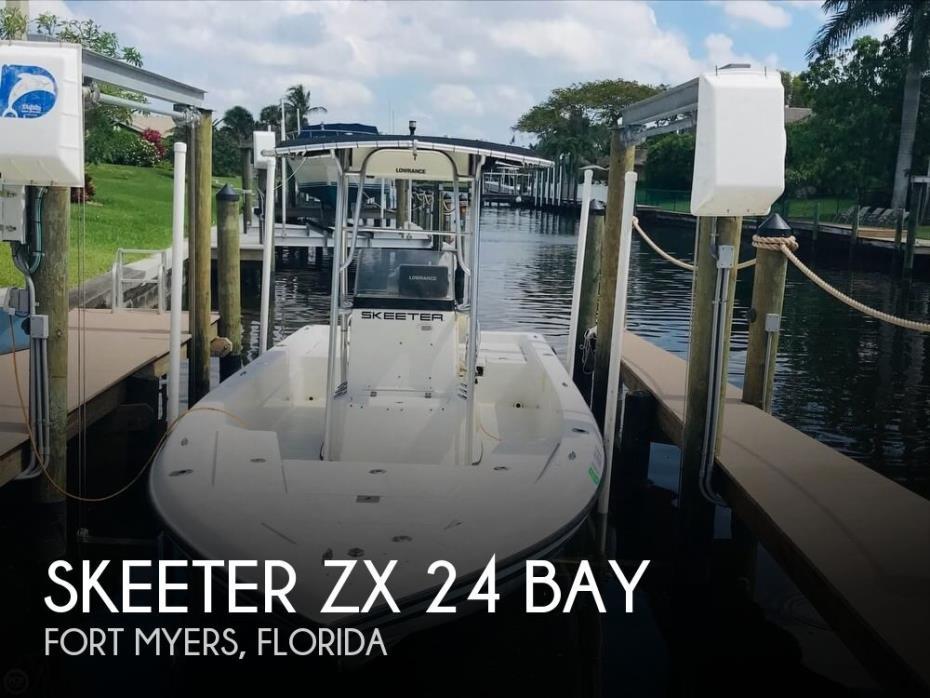 2006 Skeeter ZX 24 Bay