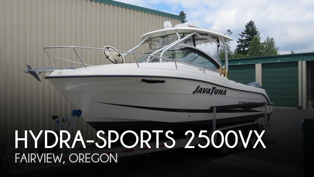 2007 Hydra-Sports 2500VX