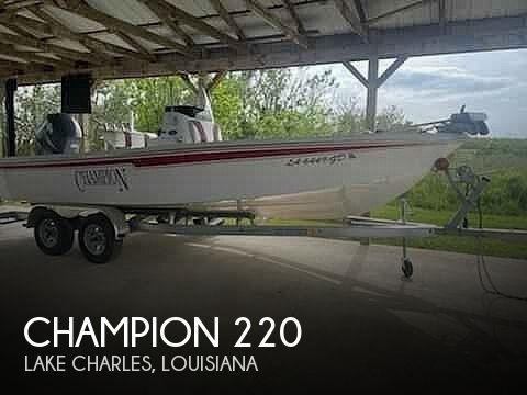 2008 Champion 220 Baychamp