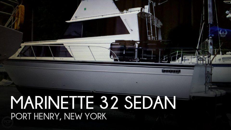 1989 Marinette 32 Sedan