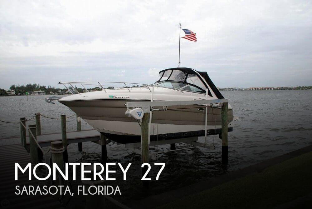 2008 Monterey 270 Sport Cruiser