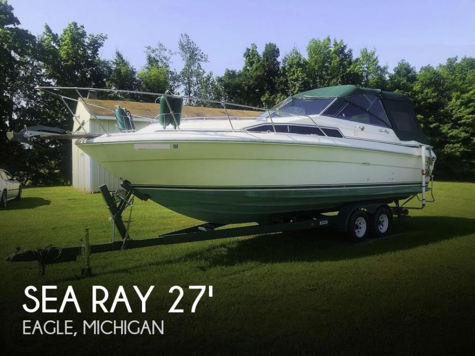 1987 Sea Ray 270 Sundancer