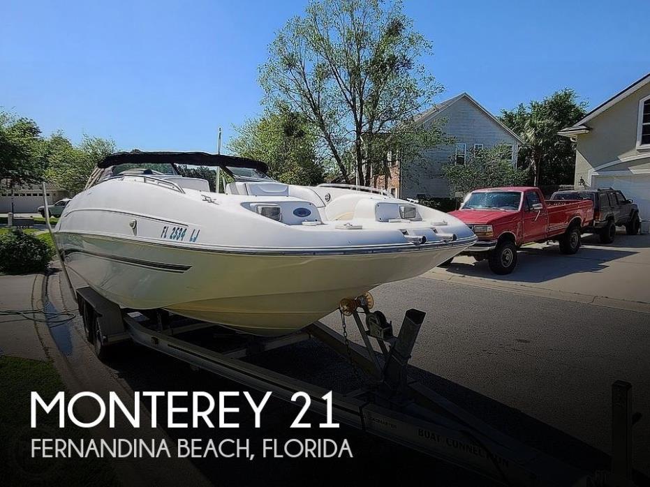 2000 Monterey 220 Explorer Sport
