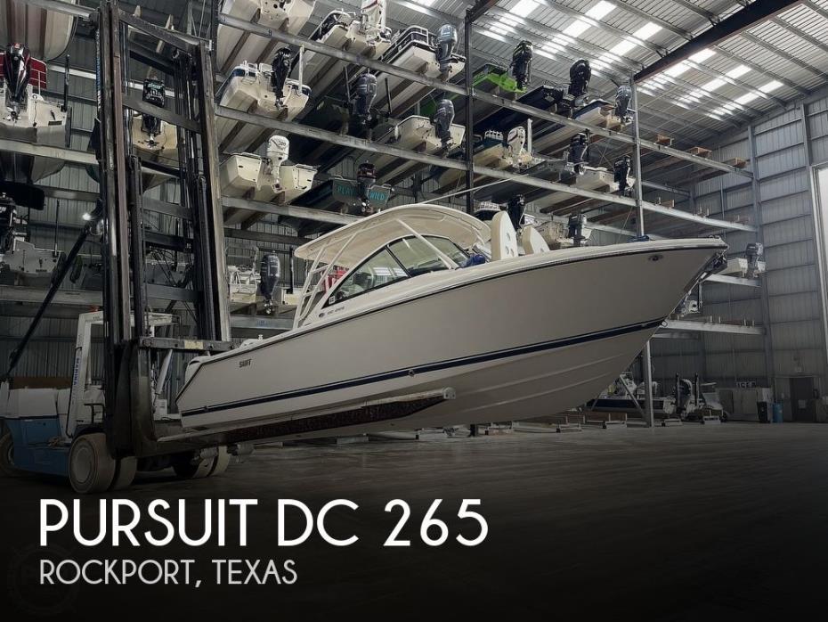 2016 Pursuit 265 DC