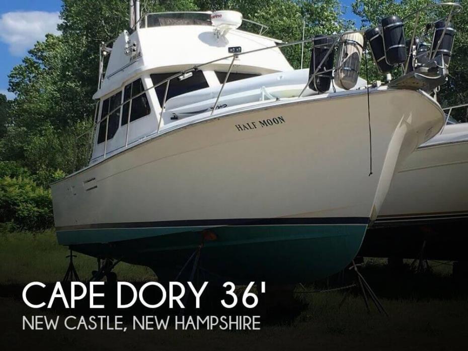 1988 Cape Dory 36 Convertible