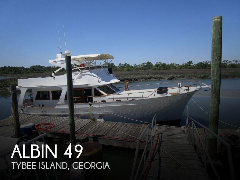 1979 Albin 49 Extended Flybridge