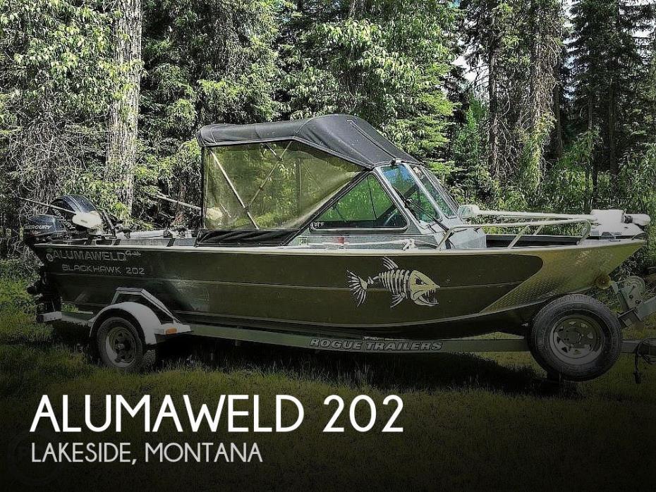 2014 Alumaweld Blackhawk 202