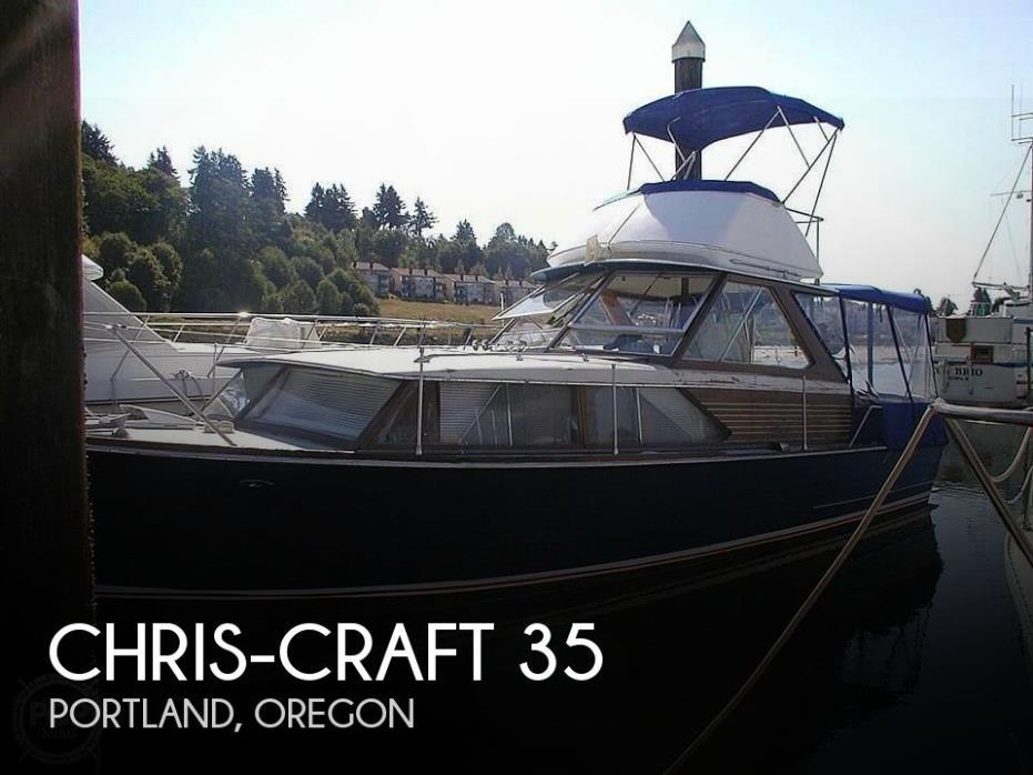 1966 Chris-Craft Corinthian Sea Skiff 35