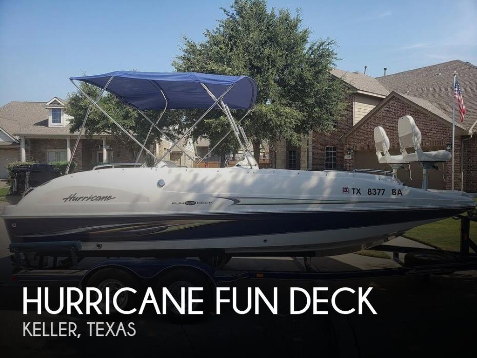 2009 Hurricane GS 202 Fun Deck