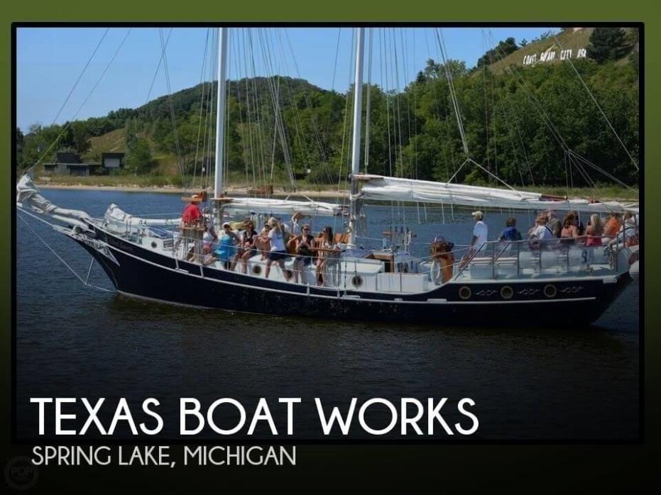 1988 Texas Boat Works Covin Pipisstral Schooner 63