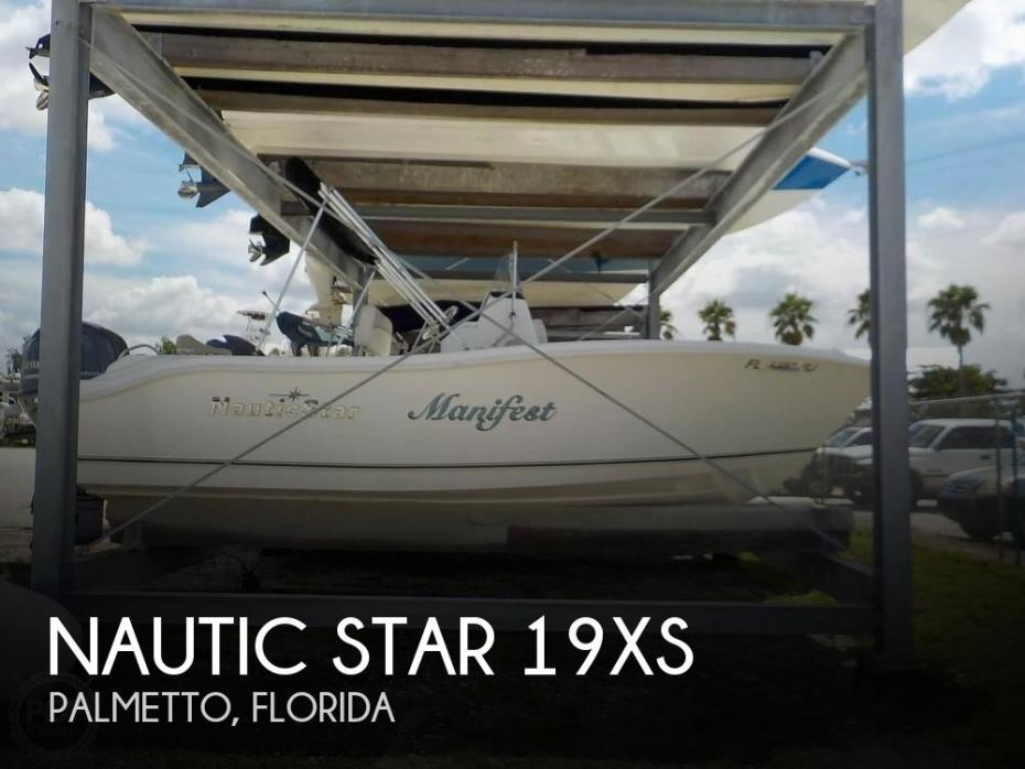 2017 Nautic Star 19XS