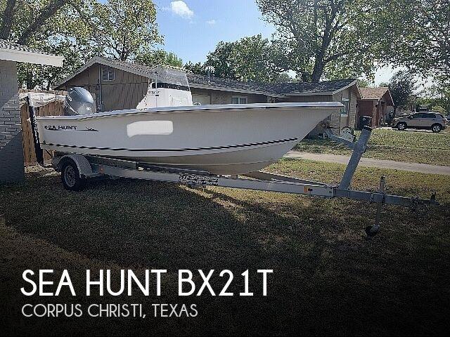 2007 Sea Hunt BX 21T