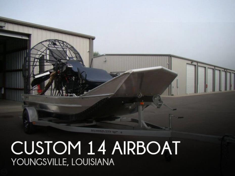 2017 Custom 14 Airboat