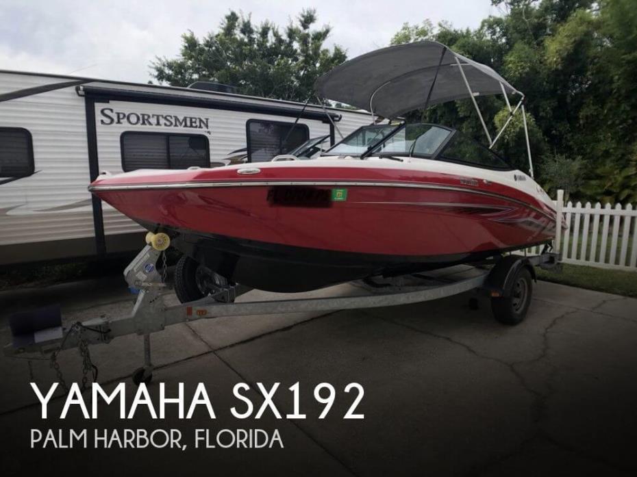 2014 Yamaha SX192