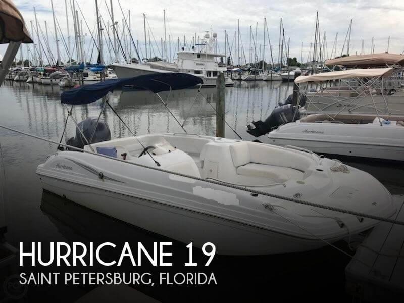 2013 Hurricane 187 OB Sundeck