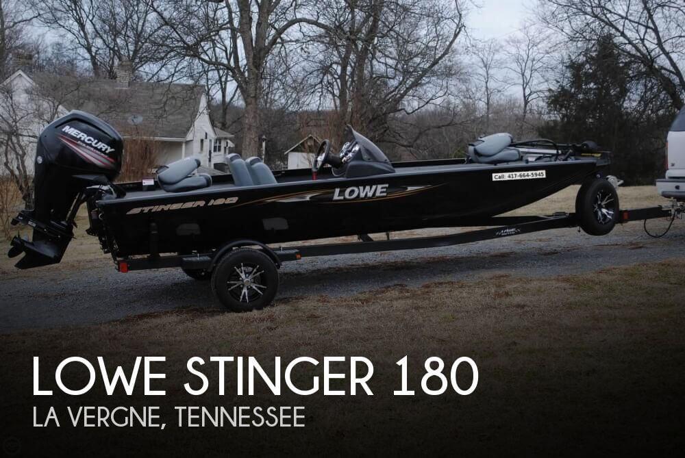 2015 Lowe Stinger 180