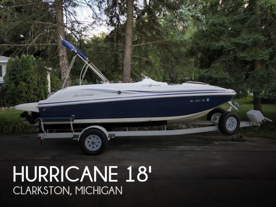 2012 Hurricane Sundeck Sport 188