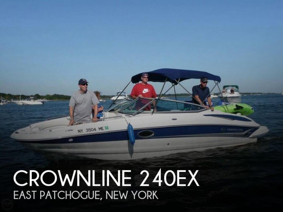 2006 Crownline 240EX