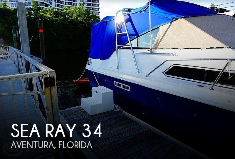 1984 Sea Ray 34