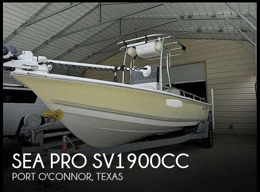 2004 Sea Pro SV 1900 CC