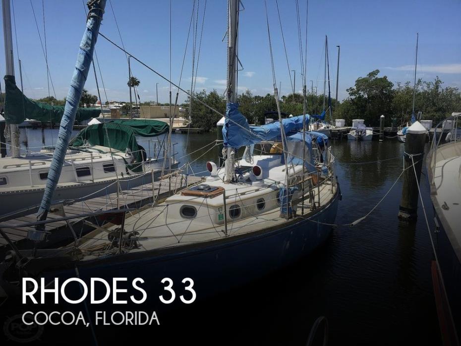 1960 Rhodes Swiftsure 33