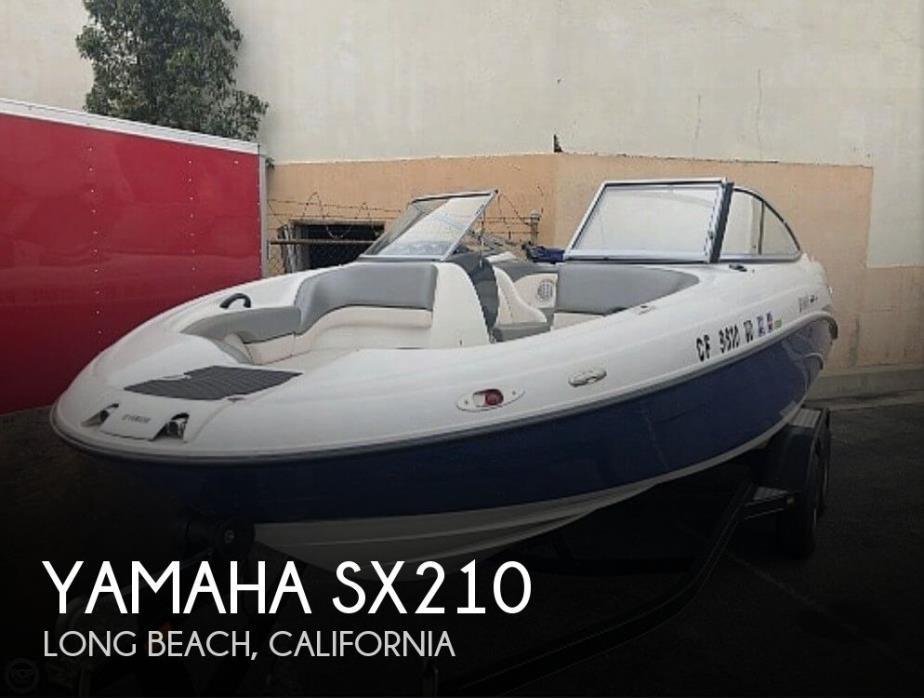 2009 Yamaha SX210