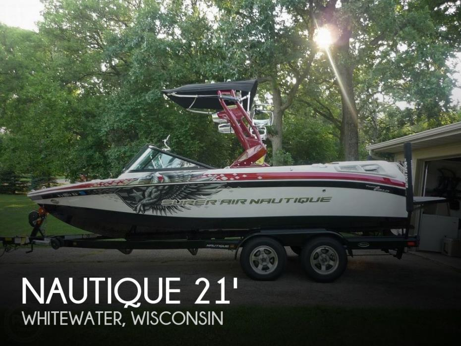 2012 Nautique Super Air 210
