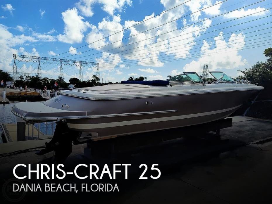 2008 Chris-Craft 25 Launch