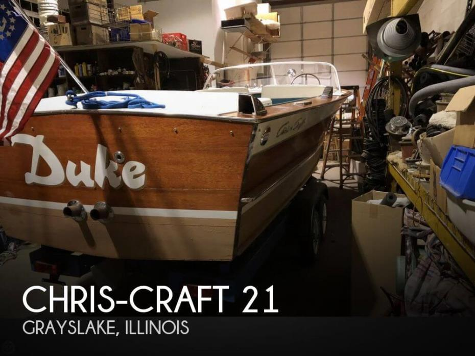1965 Chris-Craft 21 Super Sport