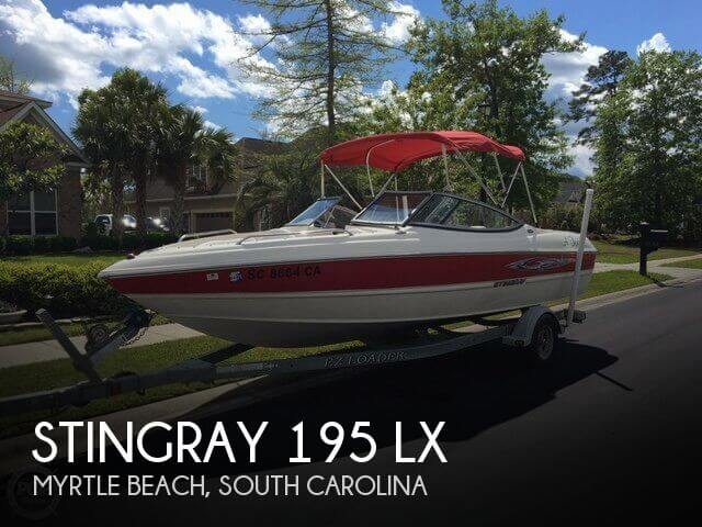 2009 Stingray 195 LX