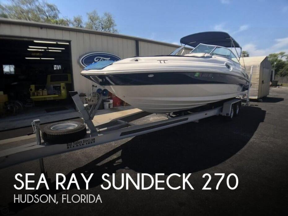 2003 Sea Ray Sundeck 270