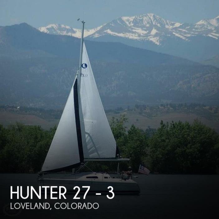2008 Hunter 27 - 3