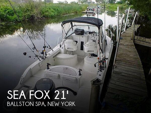 2007 Sea Fox 216 Walkaround