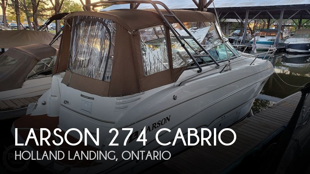 2002 Larson 274 Cabrio