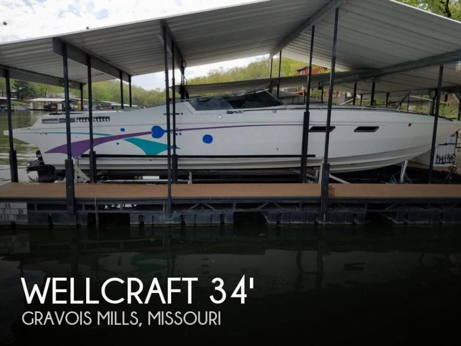 1985 Wellcraft Scarab III