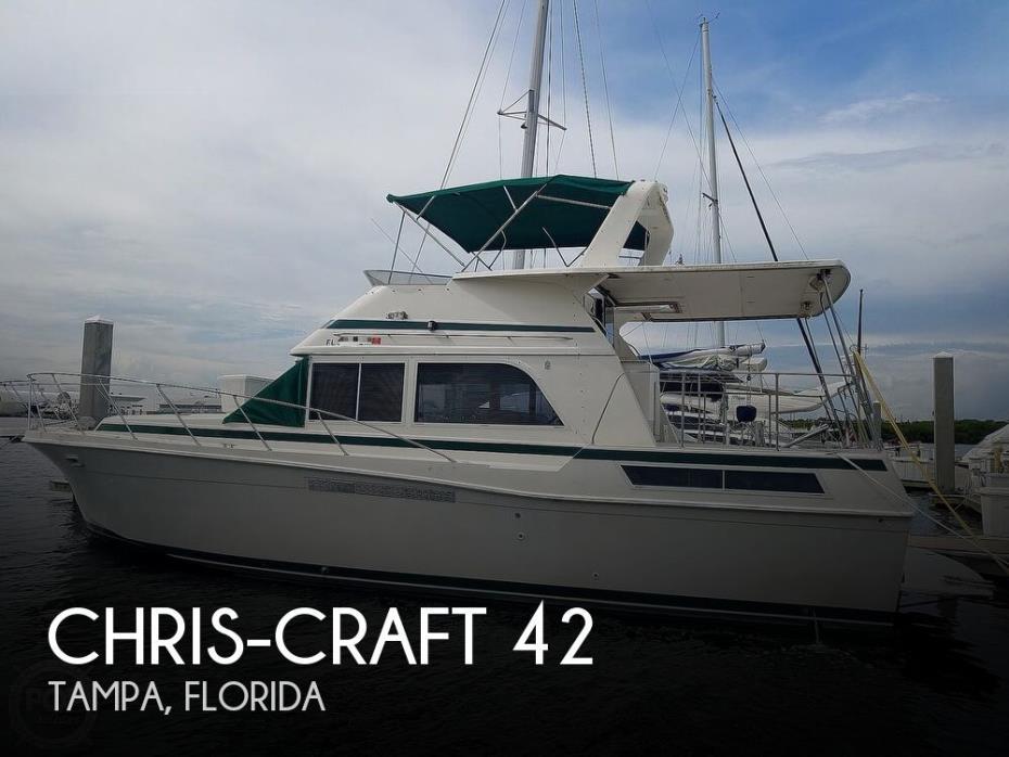 1985 Chris-Craft 42 Catalina