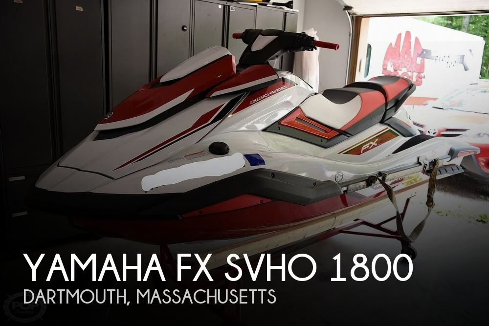 2019 Yamaha FX SVHO 1800