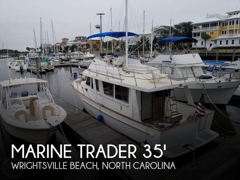 1985 Marine Trader Europa 34