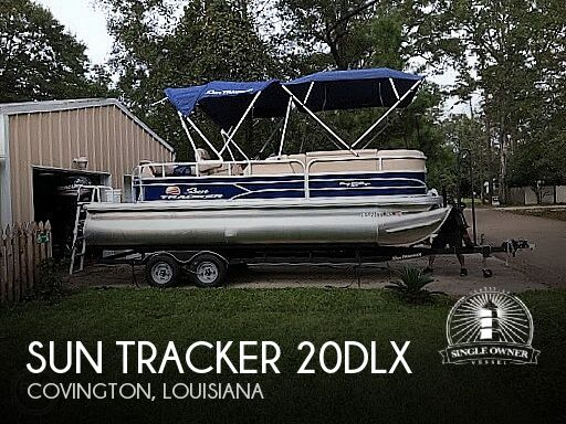 2018 Sun Tracker 20DLX Party barge