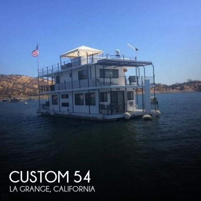 2006 Custom 20 x 54 Lake McClure 2-story Houseboat