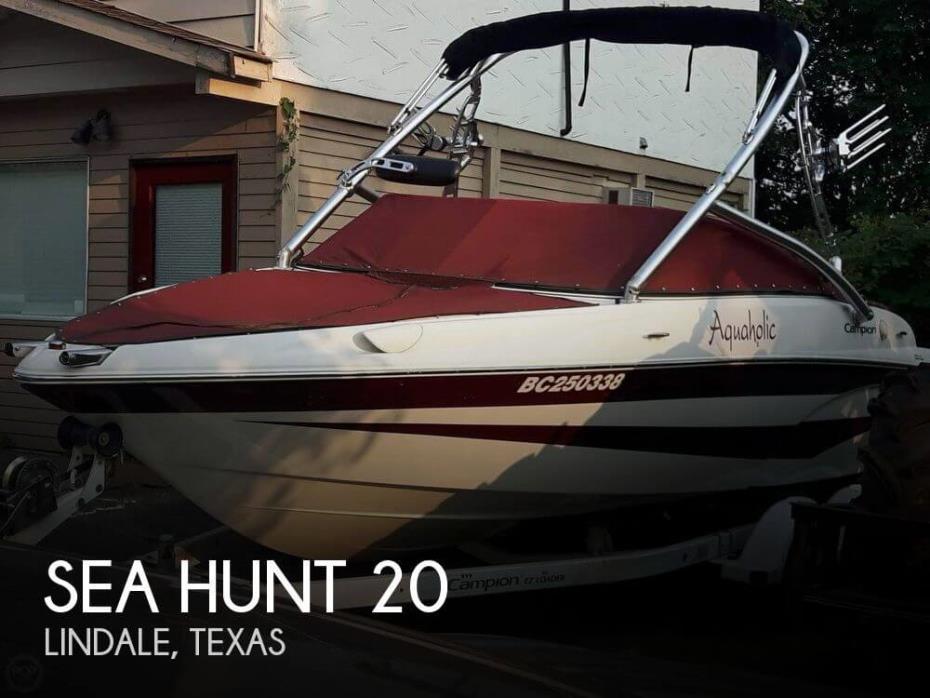 2004 Sea Hunt Triton 202